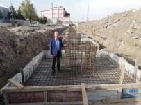 Şuhut'ta Kapalı Pazar Yeri Çalışmaları Devam Ediyor