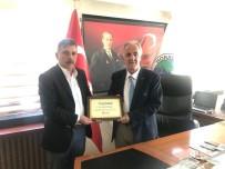 ORHAN YıLMAZ - Türkiye Gazetesi'nden Başkan Aydın'a Ziyaret