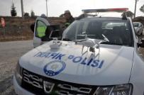 KURAL İHLALİ - Uşak'ta Sürücüler Drone İle Kontrol Edildi