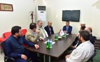 YEREL YÖNETİMLER - Başkan Gürkan, Semerkand Vakfı Yöneticileri İle İstişarede Bulundu
