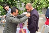 MEHMET ERDOĞAN - Başkan Uğurlu, Halilbeyli'de Düğün Yemeğine Katıldı