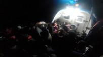 KAÇAK GÖÇMEN - Ege'de 44 Kaçak Göçmen Yakalandı