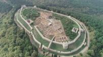 ROMA İMPARATORLUĞU - İstanbul'un Fethinin Başladığı Aydos Kalesi Havadan Görüntülendi