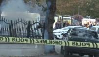 ŞÜPHELİ ÇANTA - Kapüşonlu Şüphelinin Bıraktığı Şüpheli Çanta Fünyeyle Patlatıldı