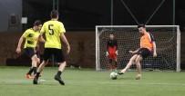 CENTİLMENLİK - Pamukkale'deki Futbol Turnuvasında Yarı Final Takımları Belli Oldu