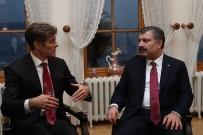 SAĞLıK BAKANı - Sağlık Bakanı Koca Mehmet Öz'le Bir Araya Geldi