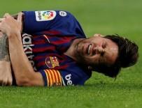 LİONEL MESSİ - Messi, El Clasico'yu kaçıracak