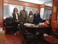 İŞ KAZASI - Trabzon İŞKUR'dan Ticaret Borsası Ve TTSO'ya Ziyaret