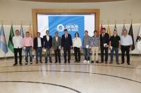 BASIN KARTI - AGC 'Nin Yeni Yönetiminden Başkan Türel'e Ziyaret