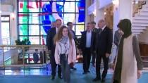 Ahed Tamimi - Ahed Tamimi, Başkan Mevlüt Uysal'ı Ziyaret Etti