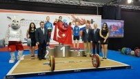 AVRUPA ŞAMPİYONU - Avrupa Şampiyonu Olan Sümeyye Aydın'ı Gururlandırdı