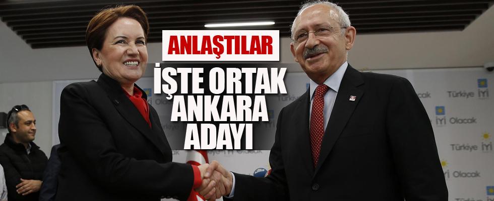 CHP-İyi Parti anlaştı! İşte ortak Ankara adayı