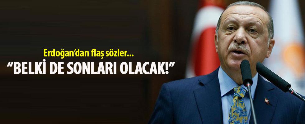 Cumhurbaşkanı Erdoğan: Bu seçim belki de sonları olacak
