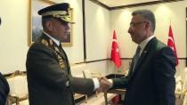 SAVUNMA BAKANI - Cumhurbaşkanı Yardımcısı Oktay'ın Kabulü