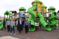 AHMET YESEVI - Haliliye Parklarla Donatılıyor