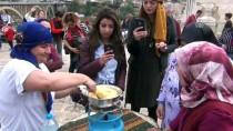 İBRAHIM AYDıN - Hasankeyf'te Karadeniz Rüzgarı Esti