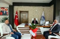 CAMİ İMAMI - İbrahim Ağa Cami İmamlarından Başkan Cabbar'a Teşekkür Ziyareti