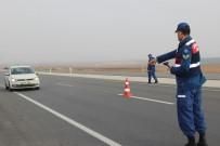 Jandarma Ekipleri Trafik Denetimlerini Arttırdı