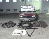 ÇAYLı - Kablo Hırsızları Çaldıkları Kablolar İle Yakalandı