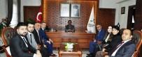 Kızılay Yönetimi, Vali Aktaş'ı Ziyaret Etti