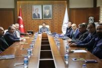 FEDERASYON BAŞKANI - Nevşehir'de İl Spor Güvenlik Kurulu Toplantısı Yapıldı