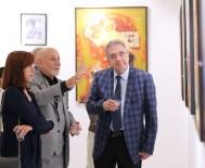 ALIYEV - Ressam Aliyev'İn Eserleri Sergilendi