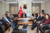 TÜRKIYE ODALAR VE BORSALAR BIRLIĞI - TD-IHK Genel Sekreteri Özoğlu, Gaziantep Ticaret Borsasını Ziyaret Etti