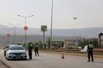 ŞERİT İHLALİ - Tunceli'de Polislerden 'Dronlu' Uygulama