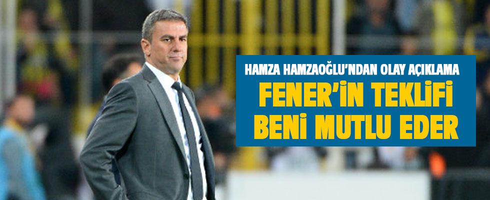 Hamza Hamzaoğlu: F.Bahçe'nin teklifi beni mutlu eder