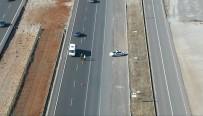 ARAÇ KULLANMAK - Antalya'da Helikopter Ve Drone İle Trafik Denetimi