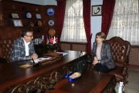 Azerbaycan Büyükelçiliği Eğitim Müşaviri Nesibova, Seçen'i Ziyaret Etti