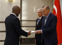 ETIYOPYA - Cumhurbaşkanı Erdoğan, Etiyopya Büyükelçisini Kabul Etti