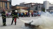 ALI TURAN - Hastanedeki Yangın Tatbikatı Gerçeği Aratmadı