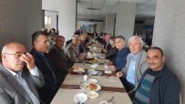 ABDULLAH ŞAHIN - Muhtarlara Başkan Yemeği