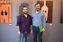 GRAFIK TASARıM - Öğretim Üyesi Murat Ertürk'ün İkinci Kişisel Sergisi Açıldı