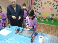 Şuhut'ta Öğrenciler Ebru Sanatı İle Tanıştı