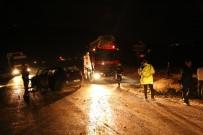 Tunceli'de Trafik Kazası Açıklaması 2 Yaralı