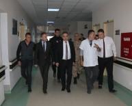 AHMET AYDIN - Vali Toprak Yaralı Askerleri Ziyaret Etti