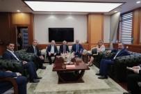 GÜMRÜK KAPISI - Van TSO Meclis Başkanı Ertürk'ten Ticaret Bakanı Ruhsar Pekcan'a Ziyaret