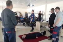 ZAFER HAVALİMANI - Zafer Havalimanı'nda Arama Ve Kurtarma Eğitimi