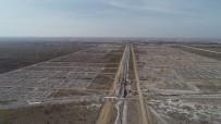 Aksaray'da Yeni Sanayi Sitesi Projesi İnşaat Çalışmaları Devam Ediyor