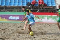 EFES - Alanya'da TFF Plaj Futbolu Ligi Finalleri Başladı