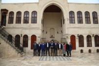KİLİS VALİSİ - Altındağ Belediye Başkanı Tiryaki'nin Kilis Temasları