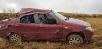 Aşkale'de Trafik Kazası Açıklaması 1 Yaralı