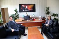 ÖĞRENCI İŞLERI - Azerbaycan Büyükelçiliği Eğitim Müşaviri Nesibova'dan NEVÜ'ye Ziyaret