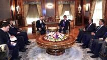 BAĞDAT BÜYÜKELÇİSİ - Barzani Ve Büyükelçi Yıldız, Ankara-Erbil İlişkilerini Görüştü