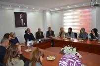 KIZ ÖĞRENCİLER - Başkan Necati Gürsoy, KYK Öğrencilerini Ağırladı