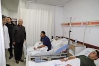 Başsoy'dan Yaralı Askerlere Ziyaret