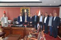 CHP Heyetinden Baroya Ziyaret
