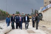 TRAFİK SORUNU - Çiftçi, Karakoyun Köprülü Kavşağı Çalışmalarını İnceledi